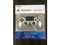 Sony PlayStation 4 DualShock 4 Wireless Controller - Silver - Limited Edition! NEW & SEALED BOX