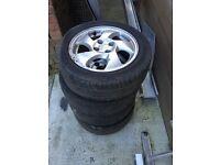 Honda Civic EK4 VTI fan blade wheels