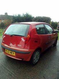 Fiat punto 2002 NEW MOT