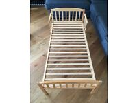 Toddlers First Bed