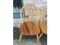 4 Ercol chairs