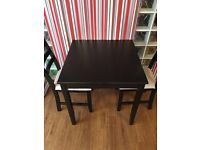 Black and White Dining Table and chairs