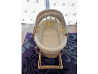 Moses Basket in excellent condition, Mamas & Papas, neutral colors