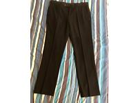 "Men's 34"" short Moss Bros Ventuno 21 black trousers"