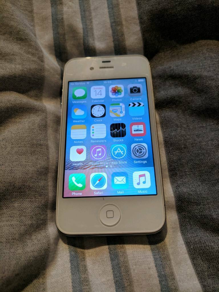 Iphone 4s 16gb white vodafone