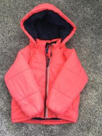 Polarn o. Pyret red coat 1.5 - 2years