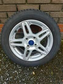 Fiesta Mk 7 Mk 8 Alloy Wheel Twin Spoke Ecoboost Alloy 2013-2016