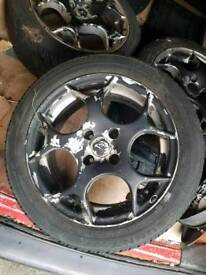 Set of 4 tsw wheels all good tyres