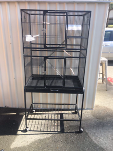 3 level cage & trolley brand new Flatpacked, view assemble onsite