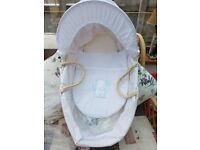 moses basket for sale brand new ex shop stock