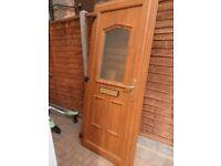 Light Oak Front Door