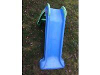 Little tikes blue/green slide