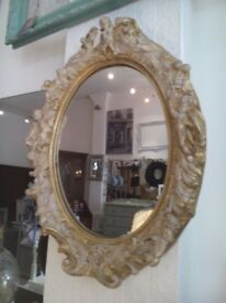 Antique style wall Mirror.