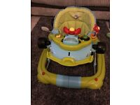 Good condition ! Light up baby walker £8!!