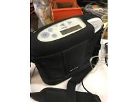 INOGEN G3 PORTABLE OXYGEN CONCENTRATOR INCLUDING BATTERY AND CARRY BAG