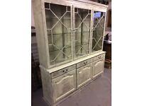 Shop display cabinet / shabby chic dresser
