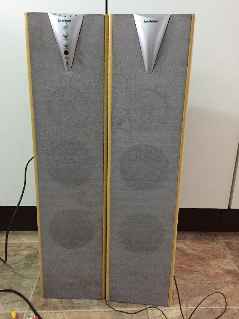 Speaker Goodmans Twin Tower Speaker System | in Stoke on Trent, Staffordshire | Gumtree