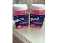 Mack's Dreamgirl Earplugs 50pairs Multipack