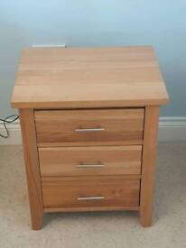 X2 Solid oak Barker and Stone House bed side units
