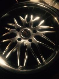 Porsche 993s & 993 wheels & tyres