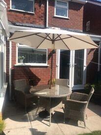 CAPRI blooms garden table parasol