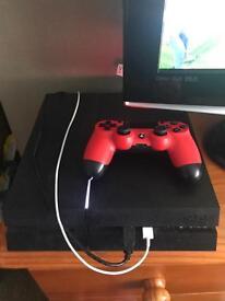 PS4, 4games,1pad,boxedd