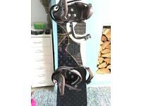 Burton Troop ladies snowboard size 146cm with Burton Lexa bindings