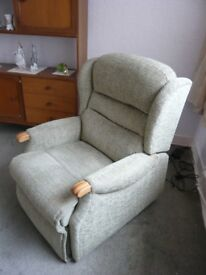 Rise & Recline Electric Powered Chair by Sherbourne