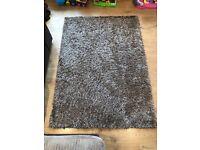 Brown rug