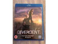 Divergent Bluray DVD