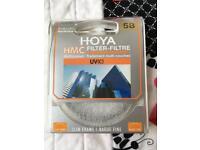 Hoya filter uv(c) 58mm brand new free