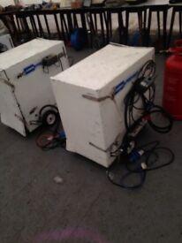 LB White 170 marquee heater/fan