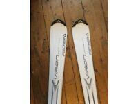 White Fischer Viron 2.2 Skis - 150cm