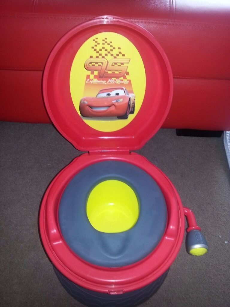 disney cars musical potty chair 3 in 1 5