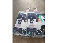 Unicorn girl short and shirt set