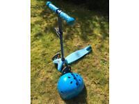 Mini micro scooter and helmet