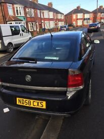 Vectra 58 plate 10 months m o t fantastic car but don't have the room for it