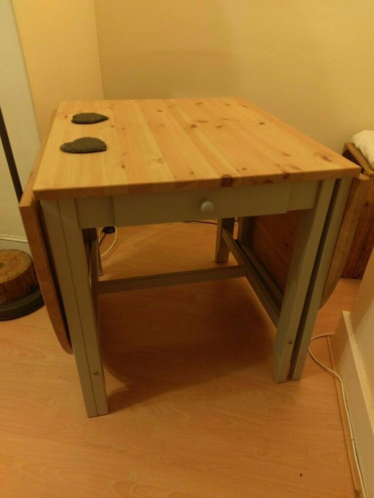 Solid Pine Gateleg Table LIKE NEW, BARELY USED