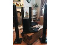 Samsung 3D blue ray player home cinema system