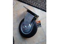 Heavy duty Marco rubber caster wheels (160mm) - 6 wheels