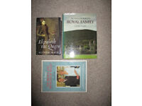 3 x Royal Family (Unseen Archives) Hardback Books