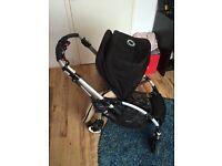 Black bugaboo bee stroller