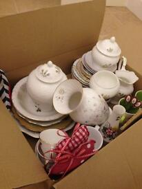 Vintage China - approx 34 pieces