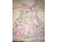 Pink Flower Dress by NEXT : 2 - 3 years