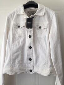 Brand New White Denim Jacket