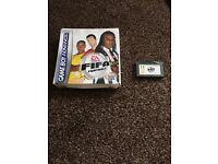 2 FIFA Football Gameboy