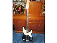 FENDER SQUIRE MIKE DIRNT PRECISION BASS,EXCELLENT CONDITION,INCLUDING QUALITY PADDED GIGBAG