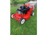 Toro commercial 53cm self drive lawnmower 3 speed alloy deck Suzuki engine mower serviced sharpened