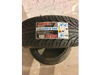 Pair of Kenda 225/40 18 tyres
