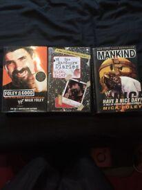 Mick foley autobiographies